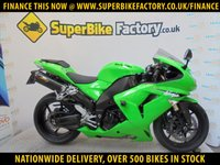USED 2007 07 KAWASAKI ZX-10R D7F  GOOD & BAD CREDIT ACCEPTED, OVER 500+ BIKES