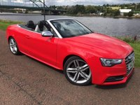 USED 2012 62 AUDI A5 3.0 S5 TFSI QUATTRO S/S 2d AUTO 333 BHP SAT NAV, VERY RARE IN RED