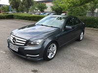 2013 MERCEDES-BENZ C CLASS 2.1 C200 CDI BLUEEFFICIENCY AMG SPORT 4d AUTO 135 BHP £12295.00