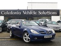 USED 2004 54 MERCEDES-BENZ SLK 1.8 SLK200 KOMPRESSOR 2d AUTO 161 BHP MAY 2018 MOT ,  EXTENSIVE SERVICE RECORDS including 7 SERVICE STAMPS , IVORY LEATHER, PARROT BLUETOOTH,