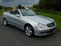 USED 2006 06 MERCEDES-BENZ CLK 3.0 CLK280 AVANTGARDE 2d AUTO 228 BHP LOW MILES, GREY LEATHER