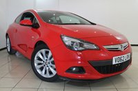 USED 2013 62 VAUXHALL ASTRA 2.0 GTC SRI CDTI S/S 3DR 162 BHP HALF LEATHER SEATS + AIR CONDITIONING + BLUETOOTH + CRUISE CONTROL + MULTI FUNCTION WHEEL + 18 INCH ALLOY WHEELS