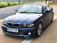 USED 2003 03 BMW 3 SERIES 2.5 325CI SPORT 2d AUTO 190 BHP PART EXCHANGE CLEARANCE 1ST 2 SEE WILL BUY