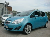 USED 2010 10 VAUXHALL MERIVA 1.4 SE 5d 98 BHP ONE FORMER KEEPER FROM NEW 41,000 MILES F.S.H