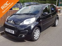 2012 PEUGEOT 107 1.0 Active 5dr, Yes £0 Road Tax £4290.00