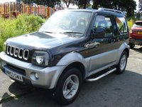 USED 2004 SUZUKI JIMNY 1.3 JLX MODE 3d 83 BHP 4X4+MOT APRIL 18+PAS+AC+CD+