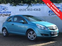 USED 2011 11 VAUXHALL CORSA 1.2 ENERGY 3d 83 BHP PRICE INCLUDES A 6 MONTH RAC WARRANTY, 1 YEARS MOT WITH 12 MONTHS FREE BREAKDOWN COVER