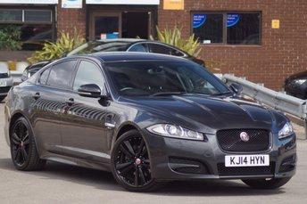 2014 JAGUAR XF 2.2 D R-SPORT 4d AUTO 200 Black Pk £14995.00