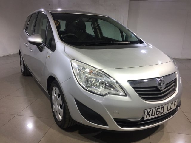 View our 2010 60 VAUXHALL MERIVA 1.4 EXCLUSIV 5d 98 BHP