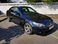 2007 BMW 5 SERIES 3.0 535D M SPORT 4d AUTO 282 BHP £8995.00