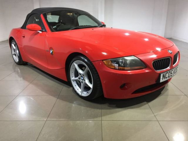 View our 2005 05 BMW Z4 2.2 Z4 SE ROADSTER 2d 168 BHP