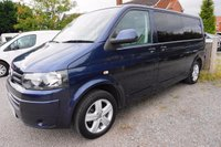 USED 2012 12 VOLKSWAGEN TRANSPORTER 2.0 T30 TDI 1d 140 BHP BRAND NEW CAMPER CONVSN-1 OWNER Presented wit Full VW Service History and 12 Months MOT, Brand new camper conversion on a 1 Owner van, 2 Berth via RIB TUV Certified bed, Air con, CD Player, SMEV 9222 Gas Hob & SInk, CBE Power System, 230v Leisure Battery Hook, Dimmer LED Lights, Full Grade Insulation, Wall Ceiling & Floor Lined, Gas Storage, Swivel Front Seats, Water Storage, Full Black Out Blinds,