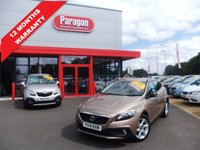 USED 2014 14 VOLVO V40 1.6 D2 CROSS COUNTRY LUX 5d 113 BHP Leather,Climate,