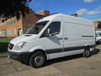 USED 2010 60 MERCEDES-BENZ SPRINTER 2.1 313CDI MWB HIGH ROOF 130BHP. PARKING SENSORS. FSH LOW RATE FINANCE. CLEAN EXAMPLE. PX WELCOME