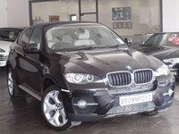USED 2012 12 BMW X6 3.0 XDRIVE30D 4d AUTO 241 BHP +5 SEATS+LTHR+SATNAV+FSH++