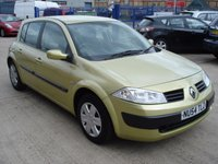USED 2004 54 RENAULT MEGANE 1.5 EXPRESSION DCI 5d 100 BHP