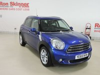 USED 2015 65 MINI COUNTRYMAN 1.6 COOPER D 5d 112 BHP With Chili Pack + Sat Nav + Bluetooth + More