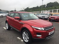 USED 2013 13 LAND ROVER RANGE ROVER EVOQUE 2.2 SD4 PURE 5d 190 BHP Only 35,000 miles, Sand Beige full leather, heated seats & Meridian HI-Fi