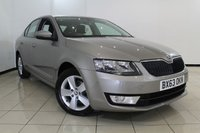 USED 2013 63 SKODA OCTAVIA 1.6 SE TDI CR DSG 5DR AUTOMATIC 104 BHP SERVICE HISTORY + AIR CONDITIONING + PARKING SENSOR + BLUETOOTH + MULTI FUNCTION WHEEL + 16 INCH ALLOY WHEELS