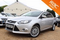 USED 2013 13 FORD FOCUS 1.0 ZETEC 5d 124 BHP Bluetooth, 6 months warranty & more
