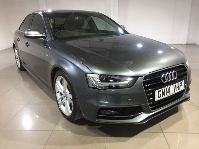 View our 2014 14 AUDI A4 2.0 TDI S LINE START/STOP 4d 148 BHP