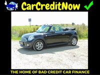 USED 2013 13 MINI CONVERTIBLE 1.6 COOPER 2d 122 BHP APPLY TODAY