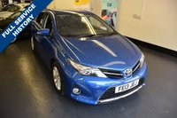 USED 2013 13 TOYOTA AURIS 1.6 ICON VALVEMATIC 5d AUTO 130 BHP 1 PREVIOUS OWNER,  FULL SERVICE HISTORY