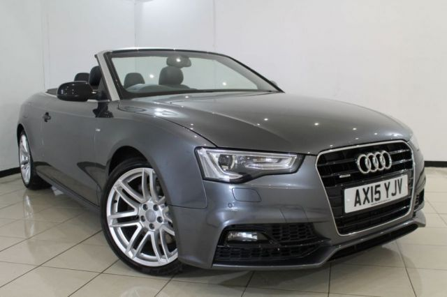 View our 2015 15 AUDI A5 3.0 TDI QUATTRO S LINE SPECIAL EDITION PLUS 2DR AUTOMATIC 242 BHP