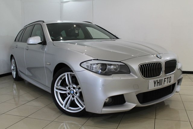 View our 2011 11 BMW 5 SERIES 2.0 520D M SPORT TOURING 5DR AUTOMATIC 181 BHP