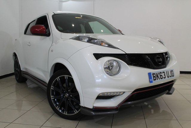 View our 2013 63 NISSAN JUKE 1.6 NISMO DIG-T 5DR 200 BHP