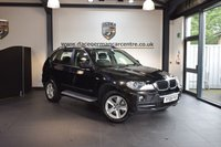 USED 2008 08 BMW X5 3.0 SE 5DR AUTO 269 BHP + FULL BLACK LEATHER INTERIOR  + EXCELLENT SERVICE HISTORY + 1 OWNER FROM NEW + PRO SATELLITE NAVIGATION + BLUETOOTH + CRUISE CONTROL + PARKING SENSORS + 18 INCH ALLOY WHEELS +