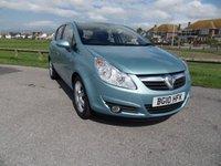 2010 VAUXHALL CORSA 1.4 SE 5d AUTO 98 BHP BLUE £4795.00