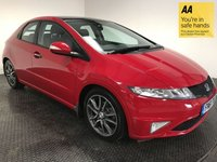 USED 2011 61 HONDA CIVIC 1.8 I-VTEC SI 5d 138 BHP FSH-LOW MILEAGE-ALCANTARA-ALLOYS