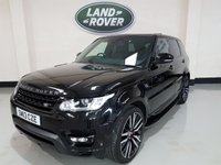 "USED 2013 13 LAND ROVER RANGE ROVER SPORT 3.0 SDV6 HSE DYNAMIC 5d AUTO 288 BHP Landrover History/22"" SVR Alloys/Pan Roof WIth SunRoof"