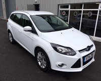 USED 2014 14 FORD FOCUS 1.6 TITANIUM NAVIGATOR 5d AUTO 124 BHP THIS VEHICLE IS AT SITE 2 - TO VIEW CALL US ON 01903 323333