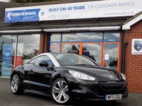 USED 2013 13 PEUGEOT RCZ 2.0 HDi GT 2dr 163 BHP * Full Leather & Sat Nav * *ONLY 9.9% APR*