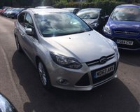 USED 2014 63 FORD FOCUS 1.6 ZETEC NAVIGATOR TDCI 5d 113 BHP THIS VEHICLE IS AT SITE 1 - TO VIEW CALL US ON 01903 892224