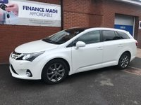 USED 2013 63 TOYOTA AVENSIS 2.0 D-4D EXCEL 5dr (125) Sat Nav & Leather  *ONLY 9.9% APR with FREE Servicing*