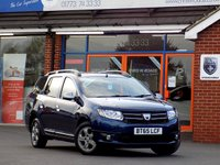 USED 2015 65 DACIA LOGAN MCV 1.5 DCi LAUREATE PRIME 5dr Estate  *ONLY 9.9% APR with FREE Servicing*
