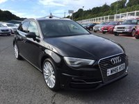USED 2015 15 AUDI A3 E-TRON 1.4 SPORTBACK HYBRID ELECTRIC AUTO 5dr Over £6,000 in cost options, HYBRID E-TRON Model
