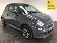 USED 2015 15 FIAT 500 1.2 S 3d 69 BHP FSH-LEATHER-E/WINDOWS-ALLOYS-A/C