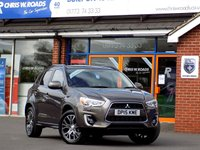 USED 2015 15 MITSUBISHI ASX 2.3 Di-D ZC-H 5dr AUTO (150) 4WD *ONLY 9.9% APR with FREE Servicing*