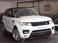 USED 2015 15 LAND ROVER RANGE ROVER SPORT 3.0 SDV6 AUTOBIOGRAPHY DYNAMIC 5d AUTO 288 BHP +7 SEATS+PAN ROOF+DEPLOYABLES+
