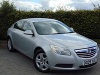 USED 2009 09 VAUXHALL INSIGNIA 2.0 EXCLUSIV CDTI 5d AUTO 130 BHP LOW MILEAGE DIESEL AUTOMATIC HATCHBACK
