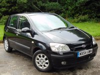 USED 2004 54 HYUNDAI GETZ 1.6 CDX 5d 104 BHP LOW MILEAGE AND 11 SERVICE STAMPS