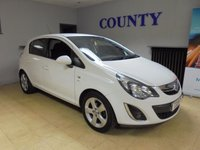 USED 2013 63 VAUXHALL CORSA 1.2 SXI AC 5d 83 BHP * TWO OWNERS WITH HISTORY *