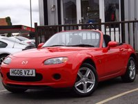 USED 2006 06 MAZDA MX-5 1.8 I 2d 125 BHP ABSOLUTELY FANTASTIC LOW MILEAGE, PRISTINE CONDITION MAZDA MX-5 WITH A COMPREHENSIVE MAZDA SERVICE HISTORY. MUST BE SEEN!