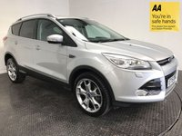 USED 2015 15 FORD KUGA 2.0 TITANIUM X TDCI 5d 148 BHP FSH-1 OWNER-LOW MILEAGE-LEATHER-A/C