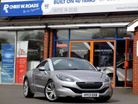 USED 2013 13 PEUGEOT RCZ 2.0 HDi GT 2dr 163 BHP * Full Leather * *ONLY 9.9% APR with FREE Servicing*