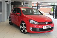 USED 2011 60 VOLKSWAGEN GOLF 2.0 GTI DSG 5d 210 BHP FULL BLACK LEATHER SEATS + SAT NAV + HEATED SEATS + ELECTRIC WINDOWS + AIR CONDITIONING + 18 INCH ALLOY